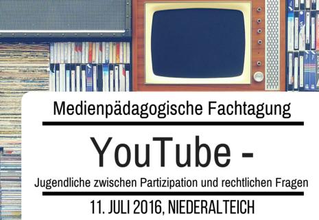 Medienpädagogische Fachtagung Niederbayern, YouTube