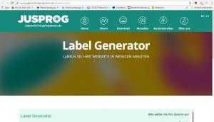 Screenshot Seite jugenschutzprogramm.de