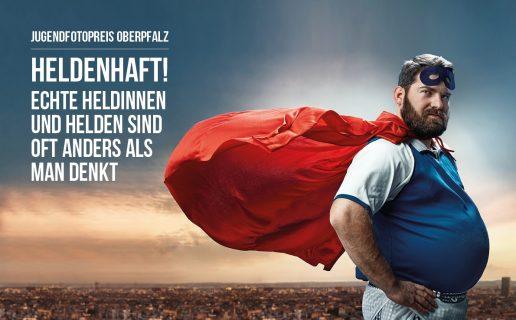Titelbild Jugendfotopreis Oberpfalz 2019 zum Thema heldenhaft